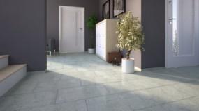 Naturstein, Verblender, Wandverblender Sockel Kashmir White 30,5x8x1 cm poliert