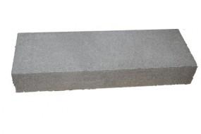 Blockstufe, Mauerabdeckung, Mauereinfassung Rose 50x35x15 cm
