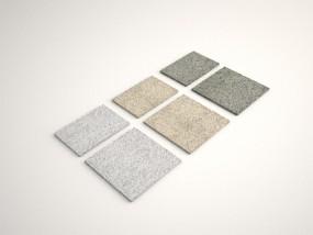 Bodenplatten 60x40x2,5 cm Anthra grau, Gelb und Grau