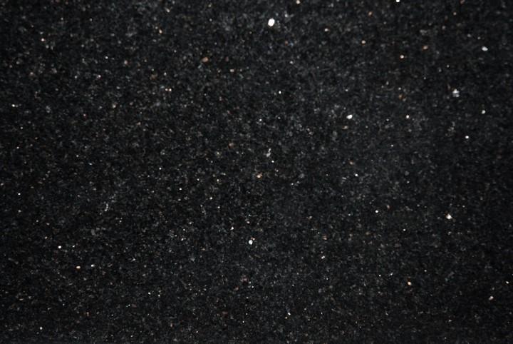 Naturstein, Verblender, Wandverblender Sockel Galaxy Black 30,5x8x1 cm poliert