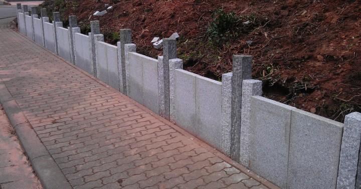Planken 80x30x6 cm in Anthra grau und Grau