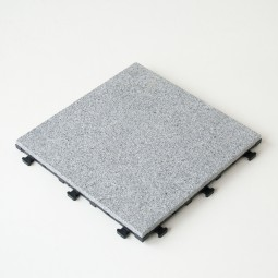 Click Fliese Anthra Grau 1 teilig 30x30x1,2 cm