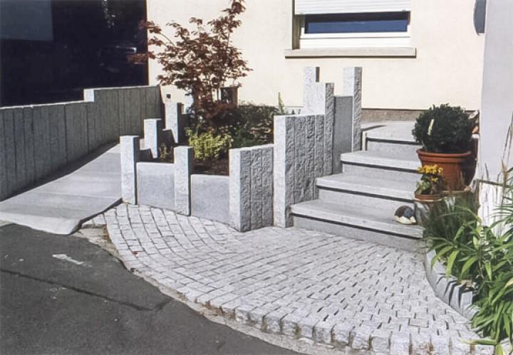 Planken 80x40x6 in Anthra grau und Grau