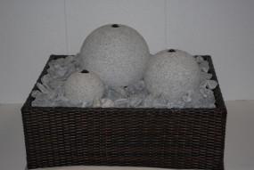 Brunnenkübelverkleidung Nougat Braun und Schoko Braun