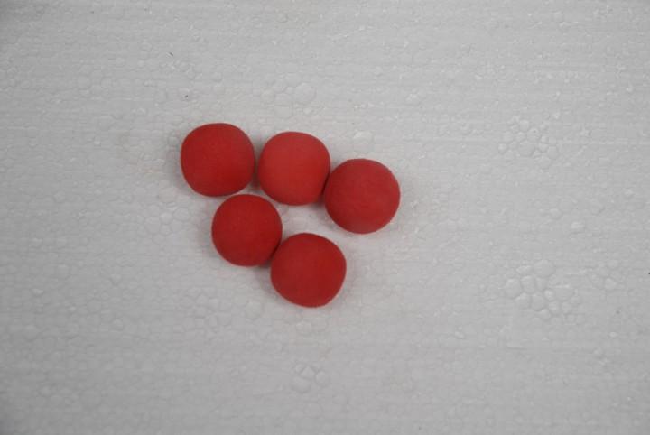 Styroporball für Wasserstandsanzeige